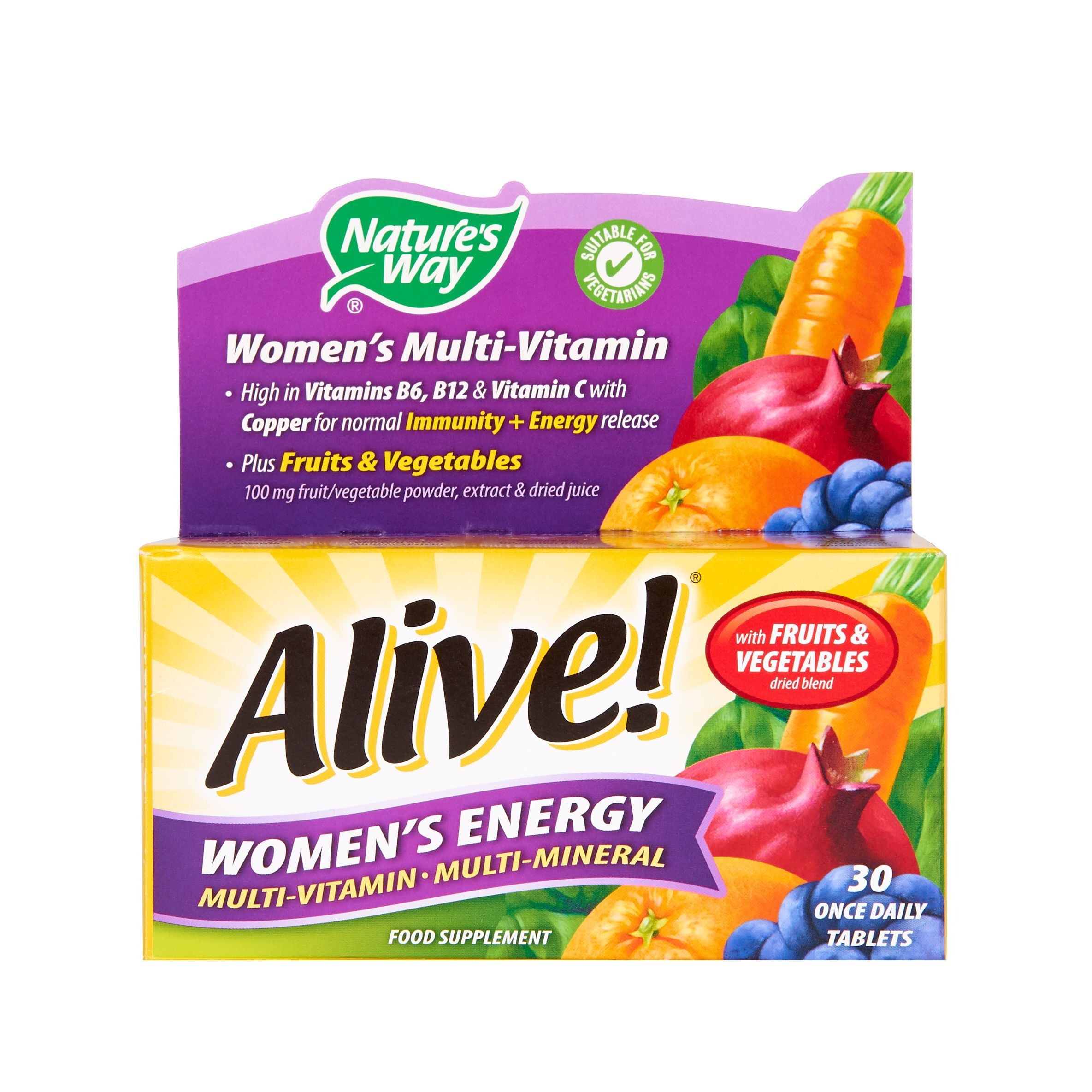 Nature's Way Alive! Women's Energy Tablets