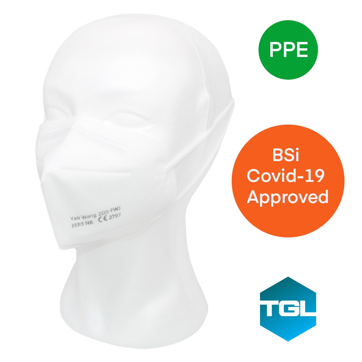 FFP3 Covid-19 Medical Respirator Mask