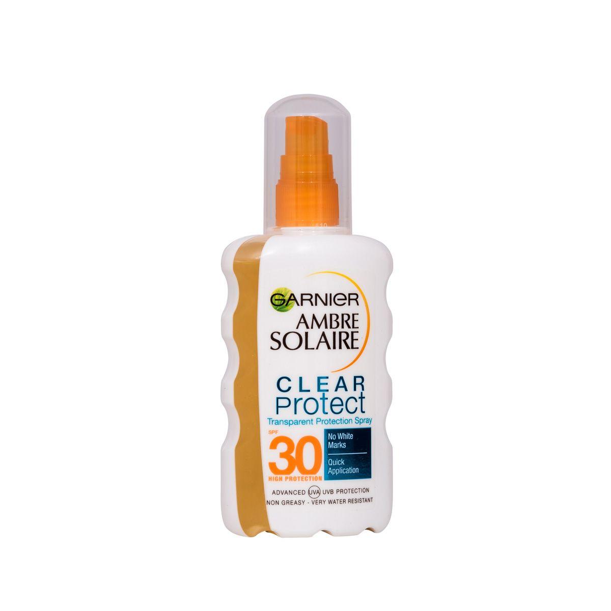 Garnier Ambre Solaire Clear Protect Sun Spray SPF30