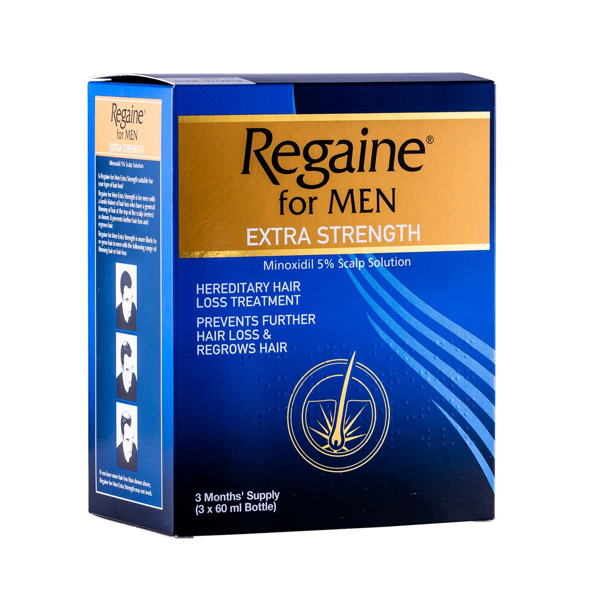 Regaine For Men Extra Strength - 3 Months' Supply