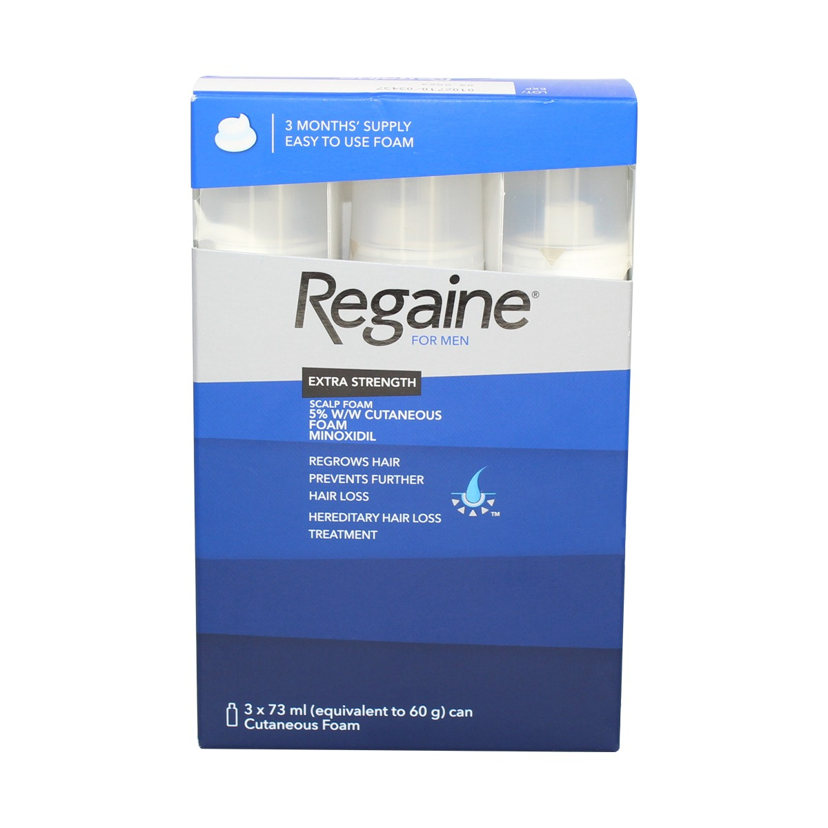Regaine for Men Extra Strength Scalp Foam - 3 Months' Supply