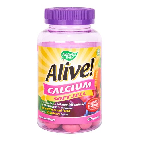 Nature's Way Alive! Calcium Soft Jells