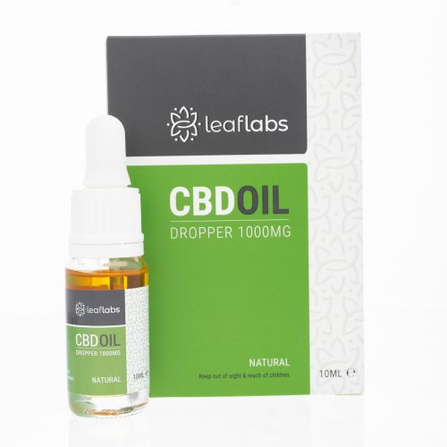 Leaflabs CBD Oil Dropper 1000mg