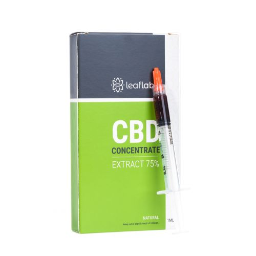 Leaflabs CBD Concentrated Extract