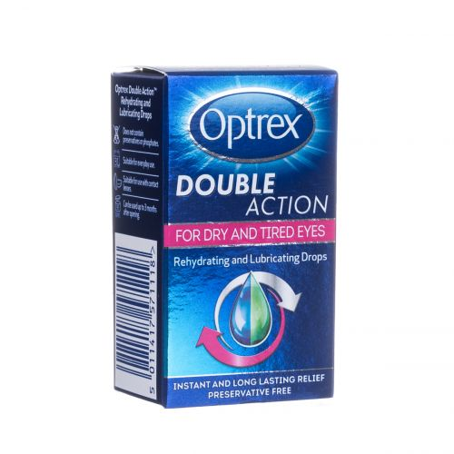Optrex Double Action Drops for Dry & Tired Eyes