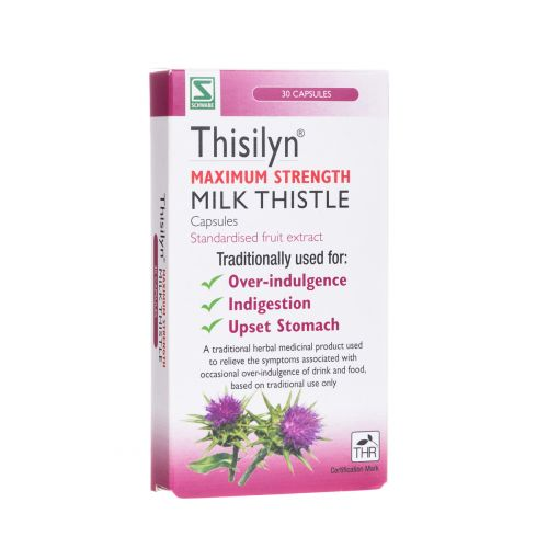 Thisilyn Milk Thistle Capsules Max Strength